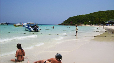 Coral Island (Koh Lan) by speed boat or Big Boat (full day)