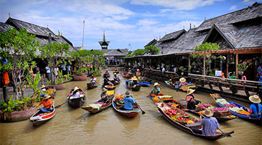 Pattaya Floating Market (Ticket Only)